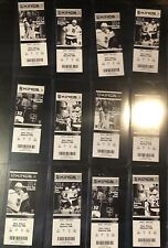 FULL SET TICKETS FROM 2014 LA KINGS STANLEY CUP PLAYOFFS INCLUDING FINALS!