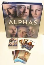 2013 Alphas Season 1 Complete Mini Master Set with Binder/Album Only