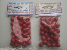 2 BAGS OF CAMPBELLS TOMATO SOUP PROMO MARBLES