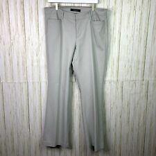 Liverpool Straight Leg Trouser Pants Size 16 Gray