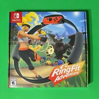 NEW Ring Fit Adventure Standard Edition (Nintendo Switch, 2019), Sealed