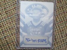 JA'LEN PARKS Florida State 2017 Leaf Army All-American PRINTING PLATE Auto #1/1