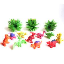 10x Jungen Dinosaurier Spielzeug Kunststoff Dinosaurier Modell Action&Figures QY
