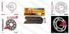 Hizo Kit De Cadena Anillo-X 17t 40t 106 se Ajusta Rayo Rueda Yamaha XS500 75-77