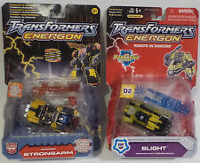 TRANSFORMERS : ENERGON STRONGARM & BLIGHT CARDED MODELS