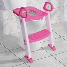 SAFETY POTTY BABY TODDLER TRAINING TOILET SEAT STEP LADDER LOO TRAINER SYSTEM