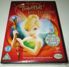 Walt Disney ** TINKERBELL And The LOST TREASURE ** UK R2 Kids/Childrens DVD NEW