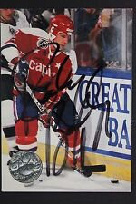 Randy Burridge Capitals Autograph 1992 Pro Set #241 Hockey Card JSA 16H