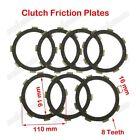 Clutch Friction Plates YX ZS Lifan CG CB 200cc 250cc Engine Dirt Motor Bike ATV