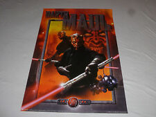 Star Wars Episode I Darth Maul Sith Lord Poster 1999 Phantom Menace 1800 Potf >