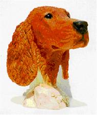 Castagna Irish Setter Head Study Figurine Sculpture Retired LAST ONE!