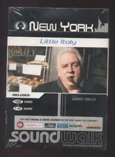 NEUF DVD + CD NEW YORK LITTLE ITALY WITH VINNY VELLA guide audio et vidéo
