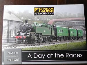 Mint and unused. Complete Graham Farish 'A Day at the Races' set. N gauge.