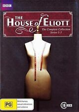 House of Eliott Complete Series Collection 1-3 New DVD Box Set  Region 4 R4