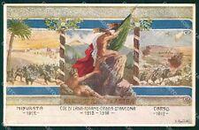 Militari Reggimentali 50º Reggimento Fanteria Parma Carso 1917 cartolina XF5015