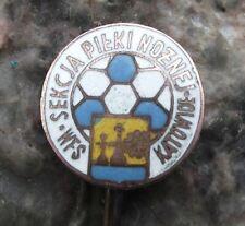 Antique Sekcja Pilki Noznej GKS Katowice Poland Football Club Pin Badge