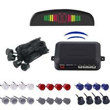 Wireless Car Parking Rear Reverse 4Sensors Buzzer Radar LED Display Audio Alarm