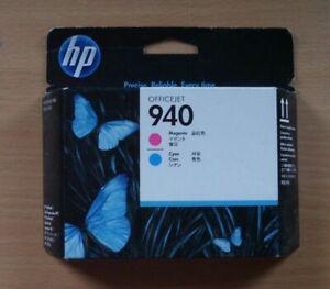 HP 940 Druckkopf C4901A magenta cyan für Officejet Pro 8000 8500 8500A OVP 2020