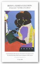 Brown Vs. Board Of Education The Lamp Romare Bearden African American Art 35x21