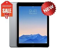 NEW Apple iPad Air 2 16GB, Wi-Fi, 9.7in - Space Gray with Touch ID