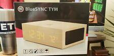 GOgroove BlueSYNC TYM Wood like Bluetooth Speaker & Alarm Clock  - Light