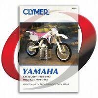 1991-1993 Yamaha WR250Z Repair Manual Clymer M391 Service Shop Garage