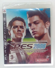 PRO EVOLUTION SOCCER PES 2008 PS3 PLAYSTATION 3 THREE PAL BRAND NEW & SEALED