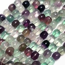 Destash Sale Fluorite Barrel Semi Precious Stone 12x11mm Q32 Beads per Pkg