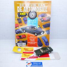 Solido 1:43 | Jaguar XJ 12 - Hachette 'De Eeuw van de Automobiel'