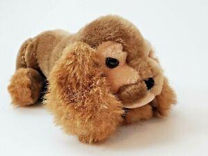 "Vintage 1982 Puppy Dog Plush Stuffed Animal By Gund, 9"" x 4"" Cocker Spaniel?"