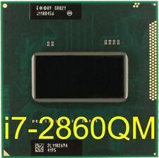 intel I7 2860QM 2.5G-3.6G 8M SR02X CPU HM65 HM67 Notebook I7-2860QM