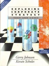 Exploring Corporate Strategy 3rd Ed. by G Johnson & K Scholes, (Paperback, 1993)