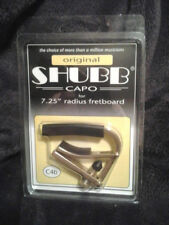 """New Shubb C4B Brass Capo For 7.5"""" Radically Curved Fretboards free Shipping"""