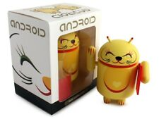 Android Mini Collectible Figure: 2013 Lucky Cat Series - Yellow by Shane Jessup