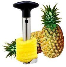 Pulisci sbuccia ananas togli buccia taglia fette toglie torsolo metallo