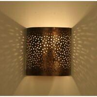 Oriental Lampe Murale Marocaine Applique Murale Abat-Jour Mediterra H20cm