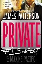 Private: Private: # 1 Suspect by James Patterson and Maxine Paetro (2013, Paper…