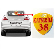 KAYSERI 38 Auto Aufhänger FENSTER Sticker OSMANLI 1453 Türkiye TUGRA-LI lig
