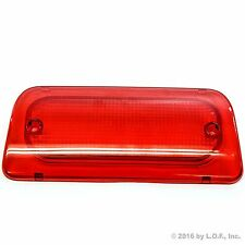 Extended Cab 3rd Brake Light Lens 94-04 S-10 Sonoma High Third Genuine RHA New
