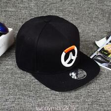 Overwatch Sign Mens Snapback Hats Adjustable Baseball Cap Hip-hop Hat Unisex AAA