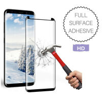 Full Adhesive Tempered Glass Screen Protector for Samsung Note 8|9 S9 S8 Plus UA