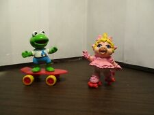 Muppet Babies McDonald's Happy Meal Kermit Skateboard Miss Piggy Roller Skates