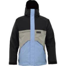 Burton Poacher Snowboard Jacket (M) Blue / Iron Grey / Black