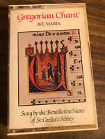 BENEDICTINE NUNS OF ST. CECILIA'S ABBEY: Gregorian Chant - Ave Maria Cassette Ta