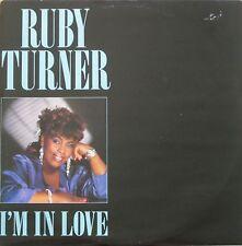 """Ruby Turner - I'm In Love: Extended Version (12"""" Jive Vinyl Maxi-Single UK 1986)"""