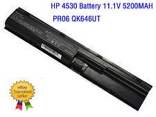 New Battery for HP ProBook4330s 4440s 4441s 4530s 4535s 4540s 4545s PR06 QK646UT