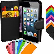 DURABLE FLIP WALLET CASE LEATHER COVER STAND PROTECTOR IPHONE 5 IPHONE 6 6PLUS