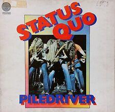 STATUS QUO~PILEDRIVER~SWIRL LABEL~6360 082~1st ITALIAN PRESS~1973 VINYL LP