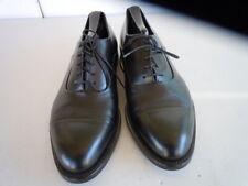 GIORGIO ARMANI Black Leather Made Italy Goodyear Welt Cap Toe Oxford Sz 8 M