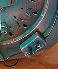 CUSTOM FINISH - choose - Resonator Guitar, Humbucker Pickup, Volume/Tone USA